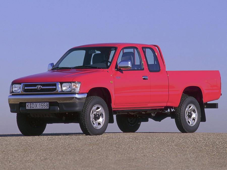 Toyota Hilux Xtracab пикап 2-дв., 1997–2001, 6 поколение - отзывы, фото и характеристики на Car.ru