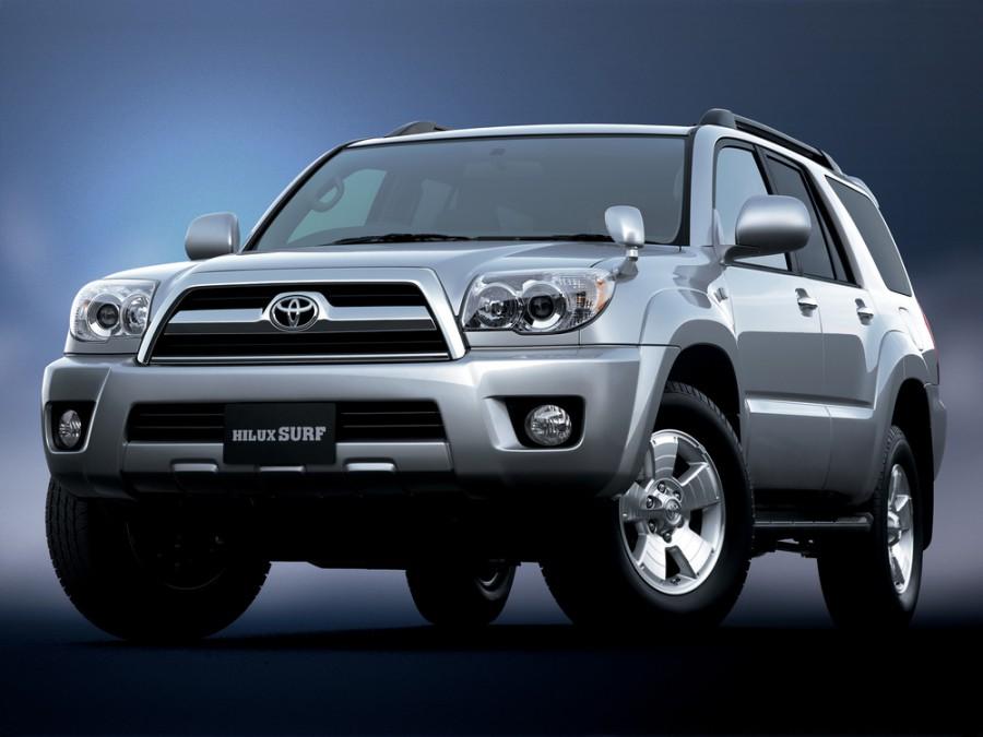 Toyota Hilux Surf внедорожник, 2005–2009, 4 поколение [рестайлинг] - отзывы, фото и характеристики на Car.ru