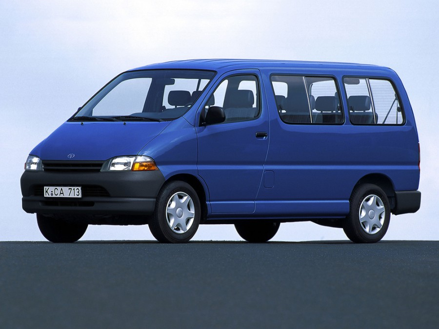 Toyota Granvia минивэн, 1995–2002, 1 поколение - отзывы, фото и характеристики на Car.ru