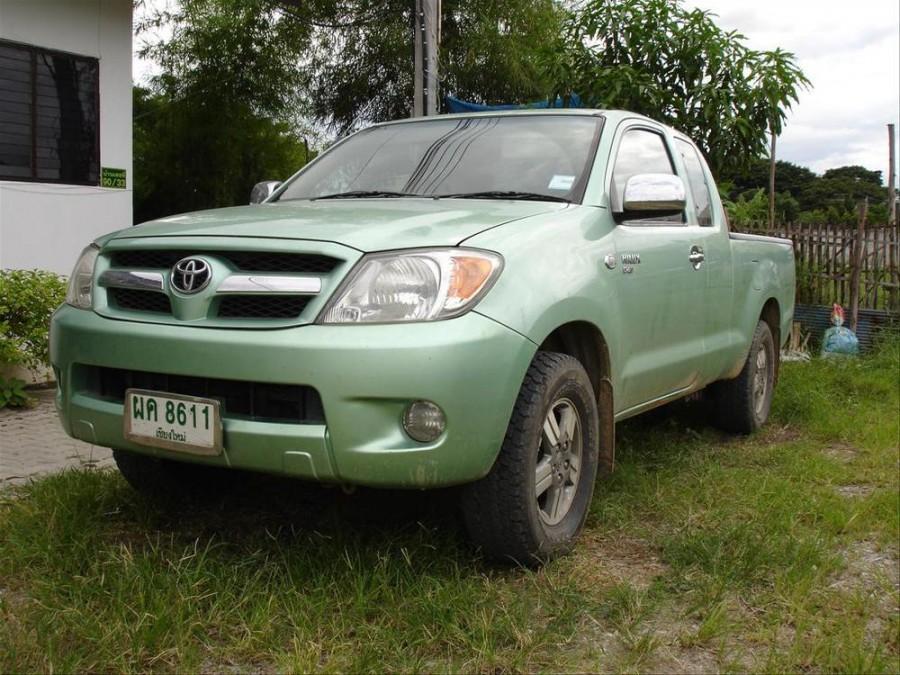 Toyota Hilux Extended Cab пикап 2-дв., 2005–2008, 7 поколение - отзывы, фото и характеристики на Car.ru