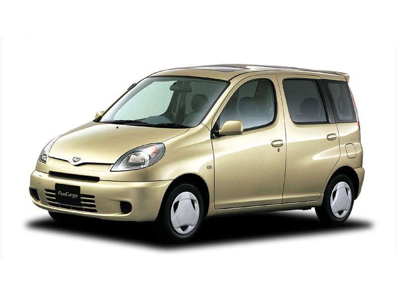 Toyota Fun Cargo минивэн, 1999–2016, 1 поколение - отзывы, фото и характеристики на Car.ru