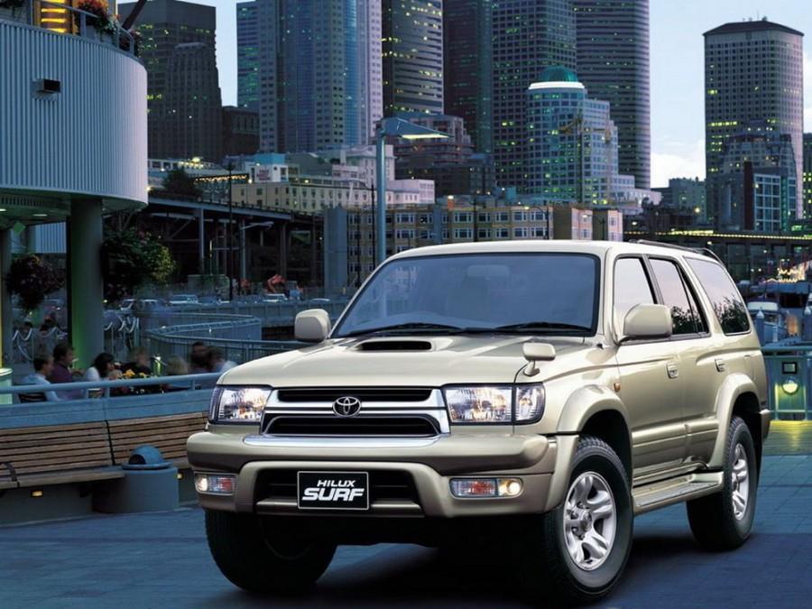 Toyota Hilux Surf внедорожник, 1995–2002, 3 поколение - отзывы, фото и характеристики на Car.ru