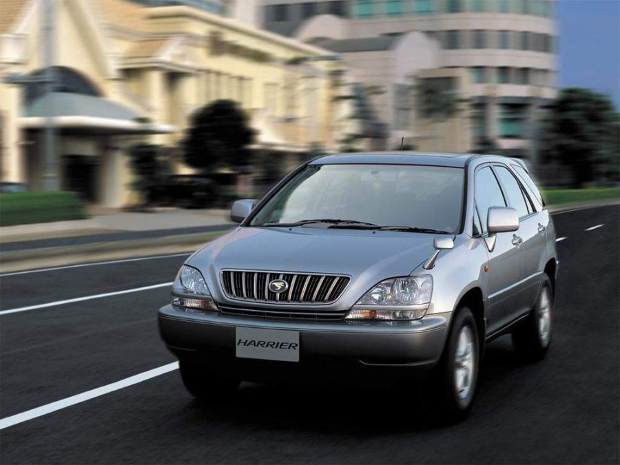 Toyota Harrier, Алдан