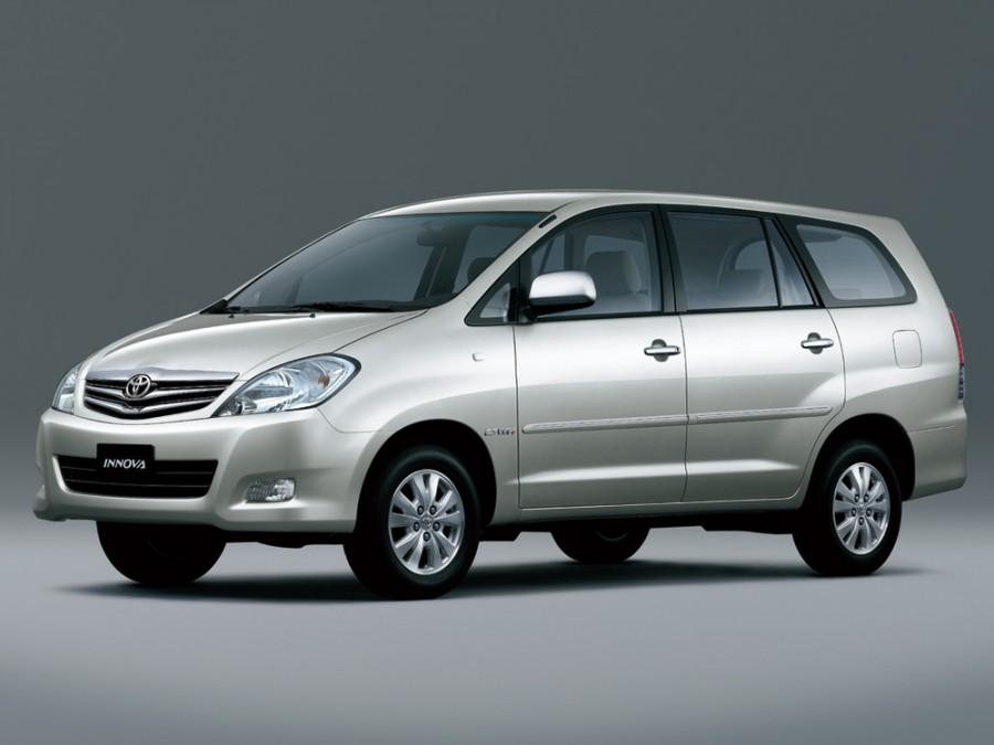 Toyota Innova минивэн, 2008–2011, 1 поколение [рестайлинг] - отзывы, фото и характеристики на Car.ru
