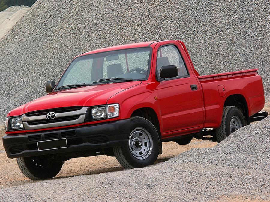 Toyota Hilux пикап 2-дв., 2001–2004, 6 поколение [рестайлинг] - отзывы, фото и характеристики на Car.ru