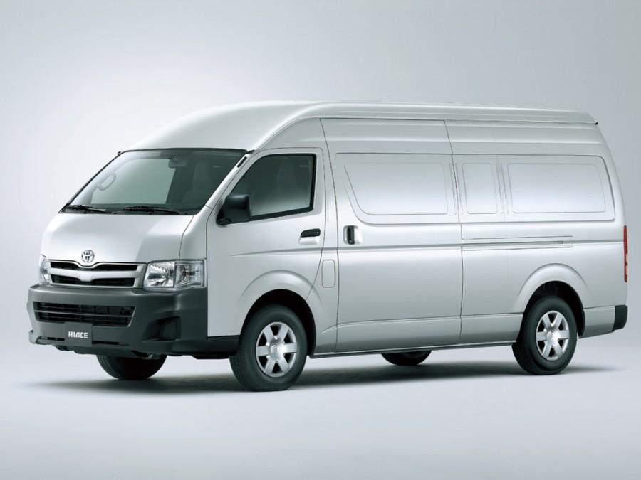 Toyota Hiace фургон, 2010–2016, H200 [рестайлинг] - отзывы, фото и характеристики на Car.ru