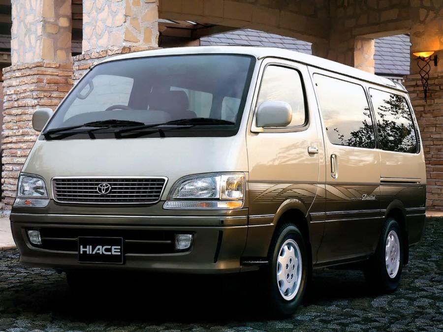 Toyota Hiace микроавтобус 4-дв., 1989–2004, H100 - отзывы, фото и характеристики на Car.ru