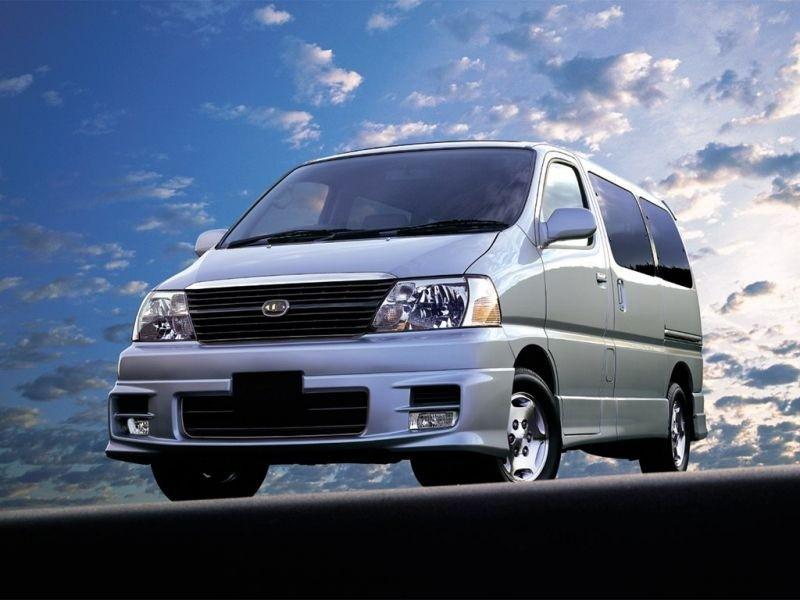 Toyota Hiace Grand микроавтобус 4-дв., 1989–2004, H100 - отзывы, фото и характеристики на Car.ru