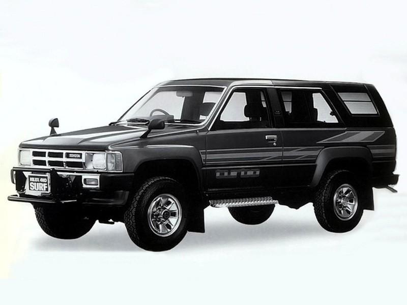 Toyota Hilux Surf внедорожник, 1984–1988, 1 поколение - отзывы, фото и характеристики на Car.ru