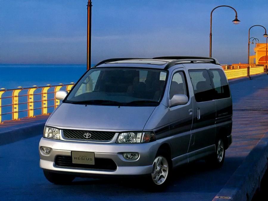 Toyota Hiace Regius микроавтобус 4-дв., 1989–2004, H100 - отзывы, фото и характеристики на Car.ru