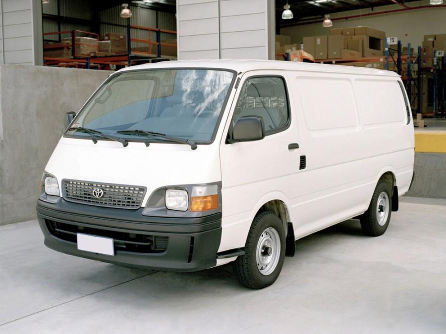 Toyota Hiace фургон, 1989–2004, H100 - отзывы, фото и характеристики на Car.ru