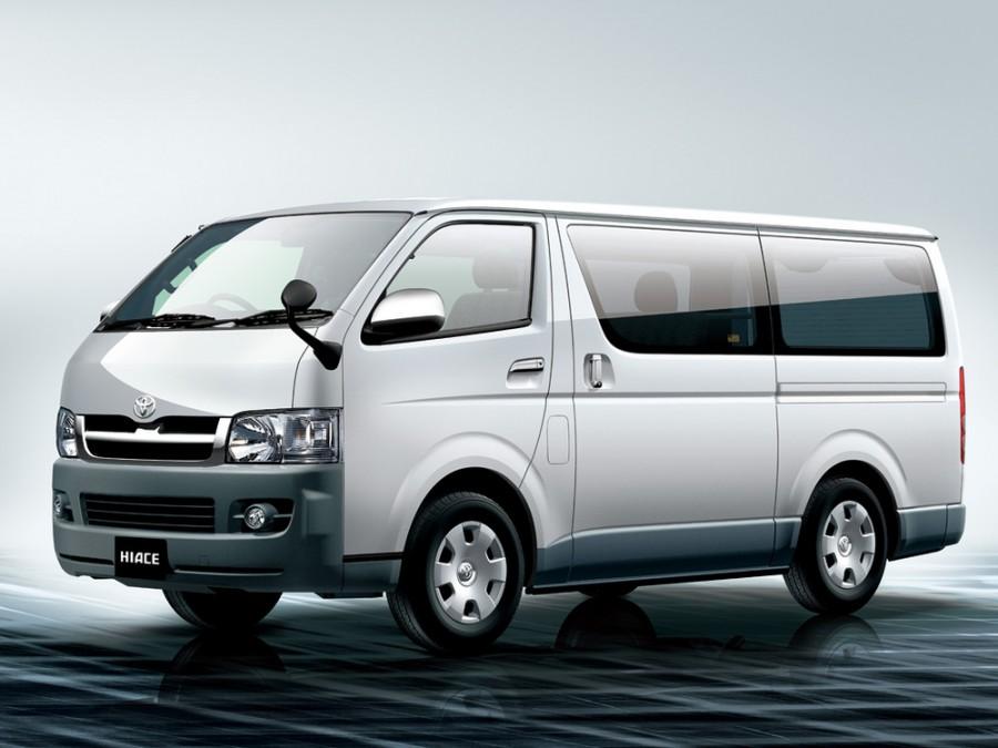 Toyota Hiace микроавтобус, 2004–2016, H200 - отзывы, фото и характеристики на Car.ru