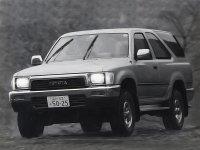 Toyota Hilux Surf, 2 поколение, Внедорожник 3-дв., 1989–1992