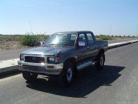 Toyota Hilux, 5 поколение [рестайлинг], Пикап 4-дв., 1991–1997