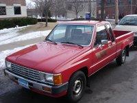 Toyota Hilux, 4 поколение, Xtracab пикап 2-дв., 1983–1988