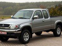 Toyota Hilux, 6 поколение [рестайлинг], Xtracab пикап 2-дв., 2001–2004