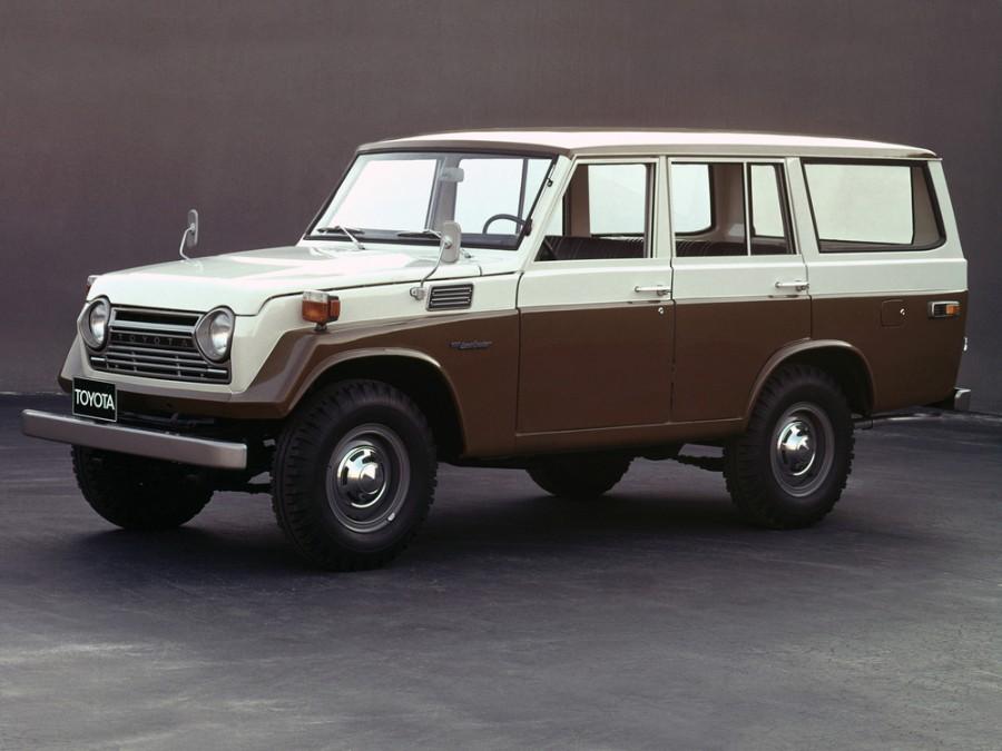 Toyota Land Cruiser FJ55V внедорожник 5-дв., 1960–1984, J40/J50 - отзывы, фото и характеристики на Car.ru