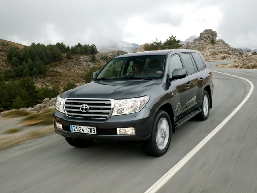 Toyota Land Cruiser внедорожник, 2007–2012, J200 - отзывы, фото и характеристики на Car.ru