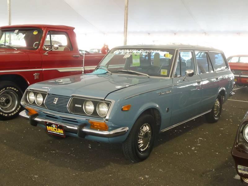 Toyota Mark II универсал, 1970–1972, T60/T70 [рестайлинг] - отзывы, фото и характеристики на Car.ru