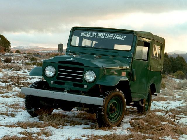 Toyota Land Cruiser кабриолет, 1955–1960, J20 - отзывы, фото и характеристики на Car.ru