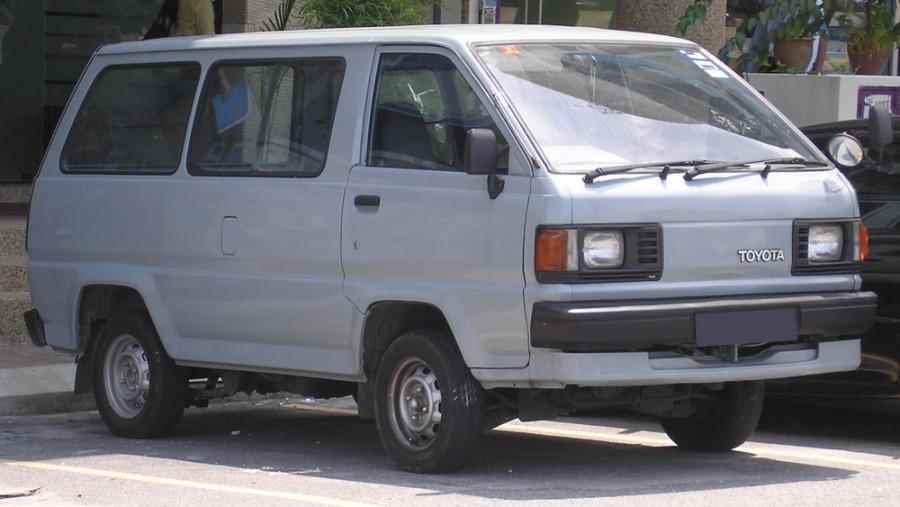 Toyota Lite Ace фургон, 1986–1990, 3 поколение - отзывы, фото и характеристики на Car.ru