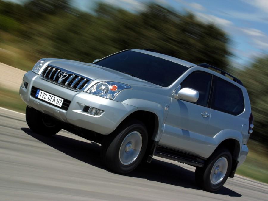 Toyota Land Cruiser Prado внедорожник 3-дв., 2002–2009, J120 - отзывы, фото и характеристики на Car.ru