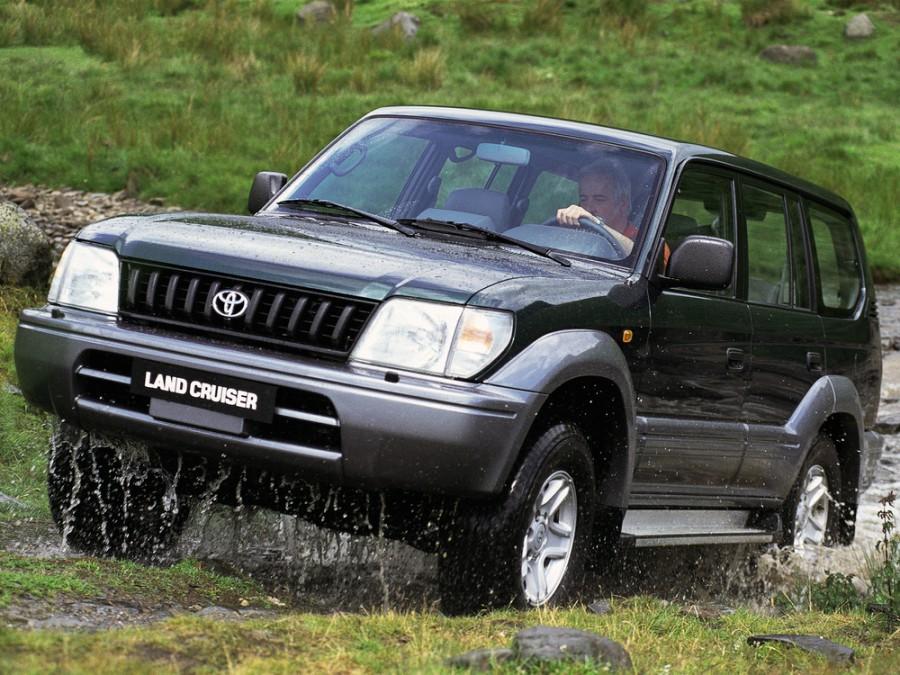 Toyota Land Cruiser Prado внедорожник 5-дв., 1996–2000, J90 - отзывы, фото и характеристики на Car.ru
