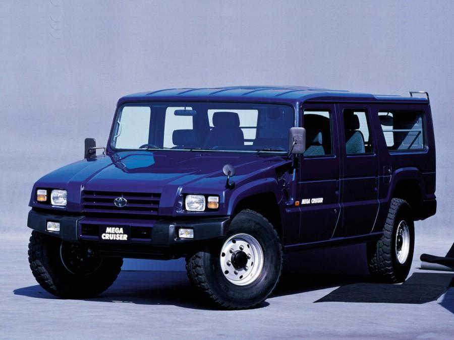 Toyota Mega Cruiser внедорожник, 1995–2001, BXD20 - отзывы, фото и характеристики на Car.ru