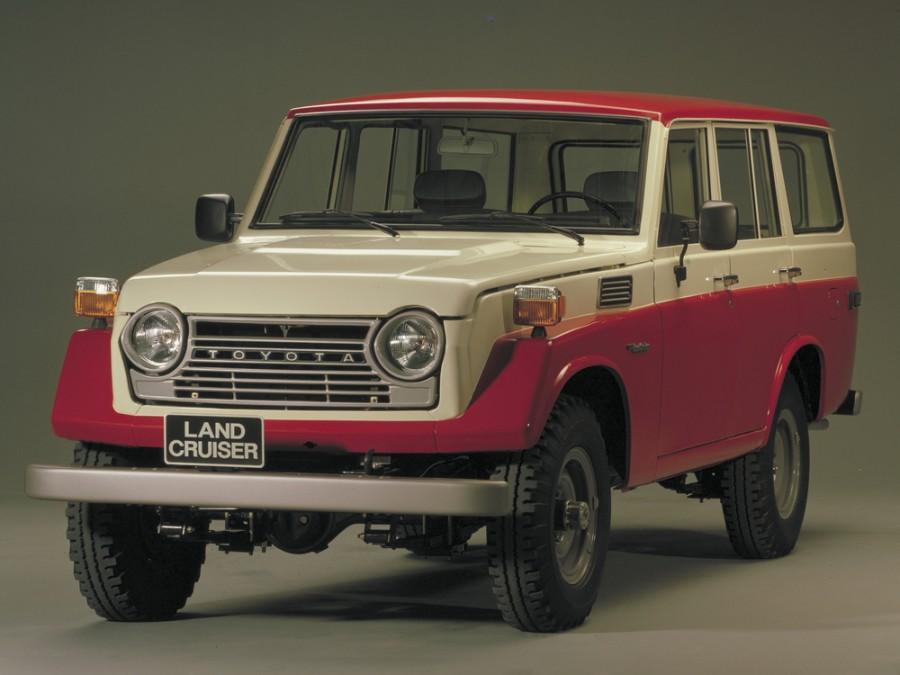 Toyota Land Cruiser FJ56V внедорожник 5-дв., 1960–1984, J40/J50 - отзывы, фото и характеристики на Car.ru