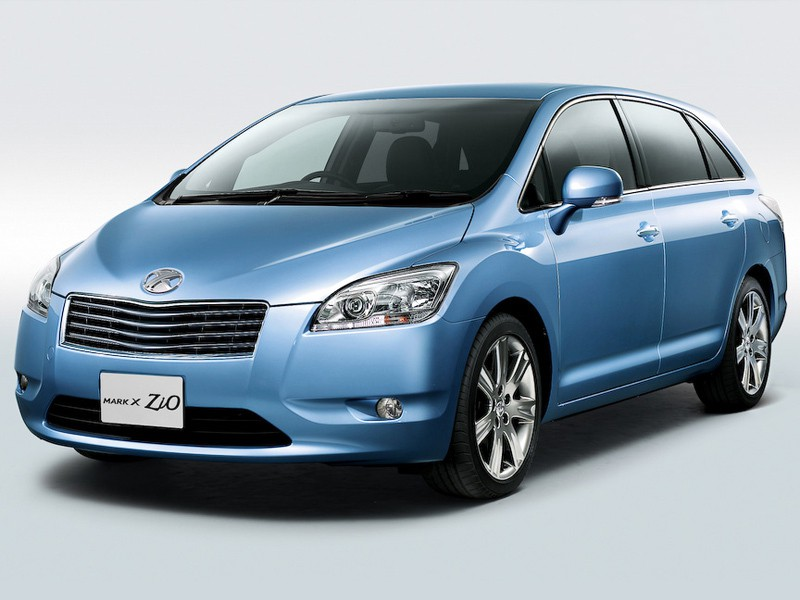 Toyota Mark X Zio минивэн, 2007–2011, 1 поколение - отзывы, фото и характеристики на Car.ru