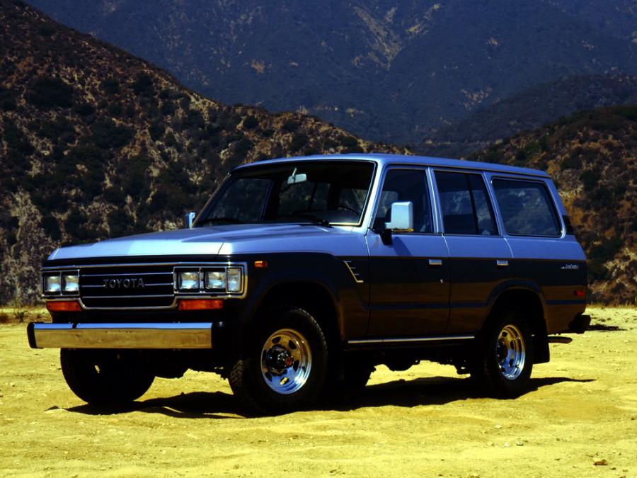 Toyota Land Cruiser внедорожник, 1987–1990, J60 [рестайлинг] - отзывы, фото и характеристики на Car.ru