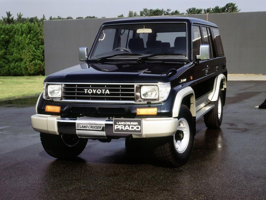 Toyota Land Cruiser Prado внедорожник 5-дв., 1990–1996, J70 - отзывы, фото и характеристики на Car.ru