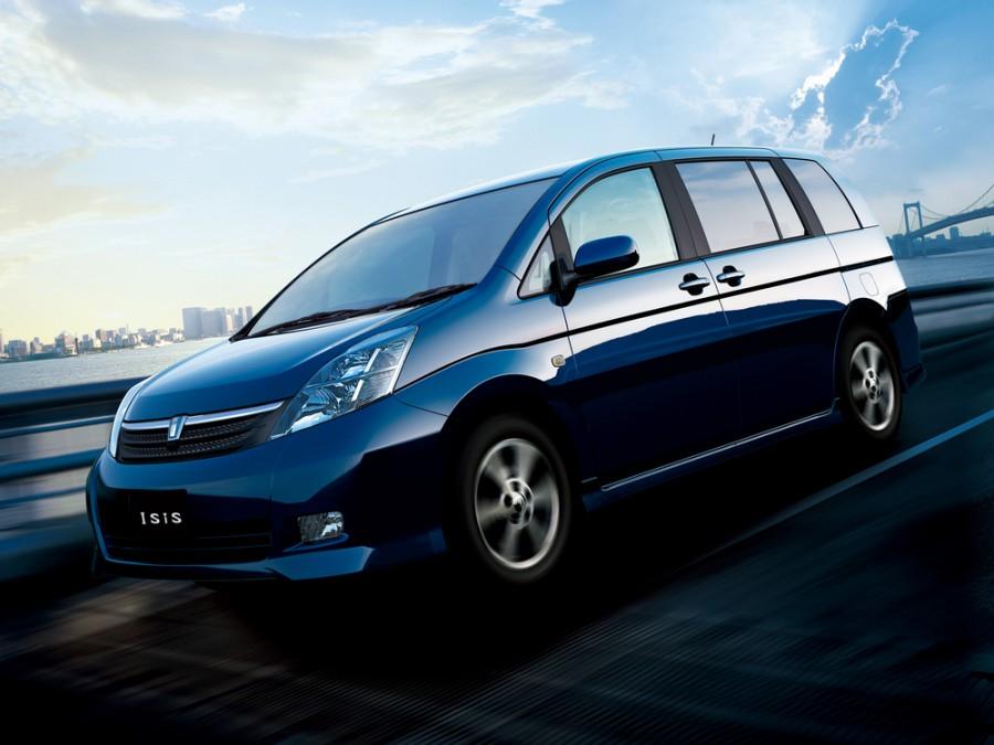 Toyota Isis минивэн, 2004–2007, 1 поколение - отзывы, фото и характеристики на Car.ru