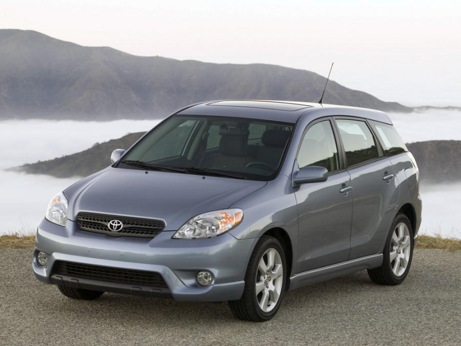 Toyota Matrix хетчбэк 5-дв., 2003–2008, 1 поколение - отзывы, фото и характеристики на Car.ru