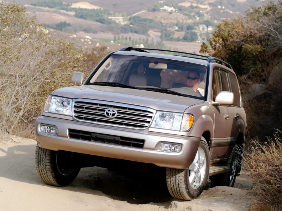Toyota Land Cruiser внедорожник, 2003–2005, J100 [рестайлинг] - отзывы, фото и характеристики на Car.ru