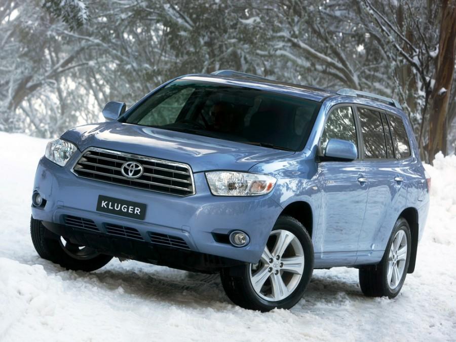 Toyota Kluger внедорожник, 2007–2016, XU40 - отзывы, фото и характеристики на Car.ru