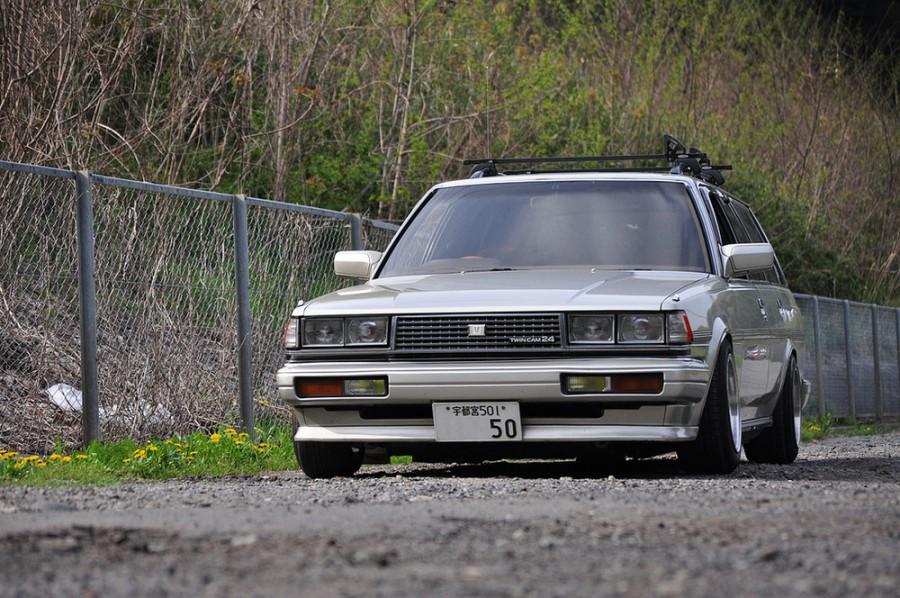 Toyota Mark II универсал, 1984–1997, X70 - отзывы, фото и характеристики на Car.ru