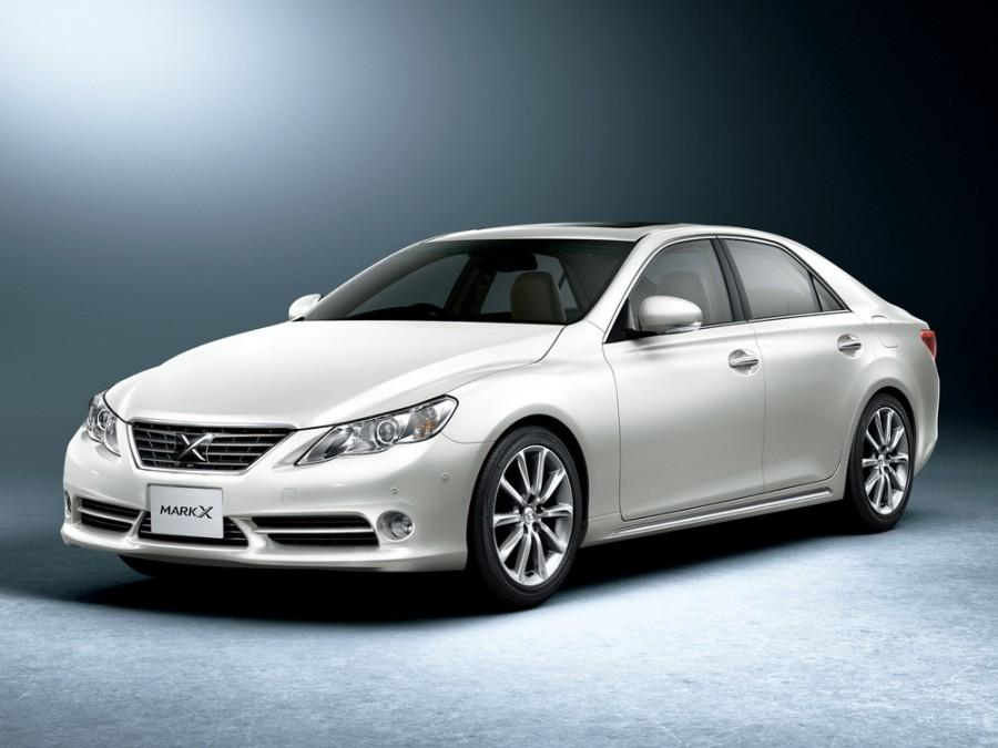 Toyota Mark X седан, 2009–2011, 2 поколение - отзывы, фото и характеристики на Car.ru