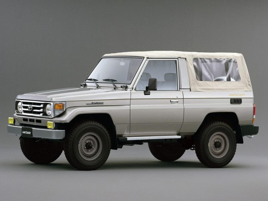 Toyota Land Cruiser J73 кабриолет, 1999–2007, J70 [2-й рестайлинг] - отзывы, фото и характеристики на Car.ru
