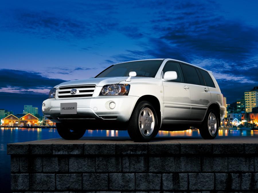 Toyota Kluger внедорожник 5-дв., 2003–2007, XU20 [рестайлинг] - отзывы, фото и характеристики на Car.ru
