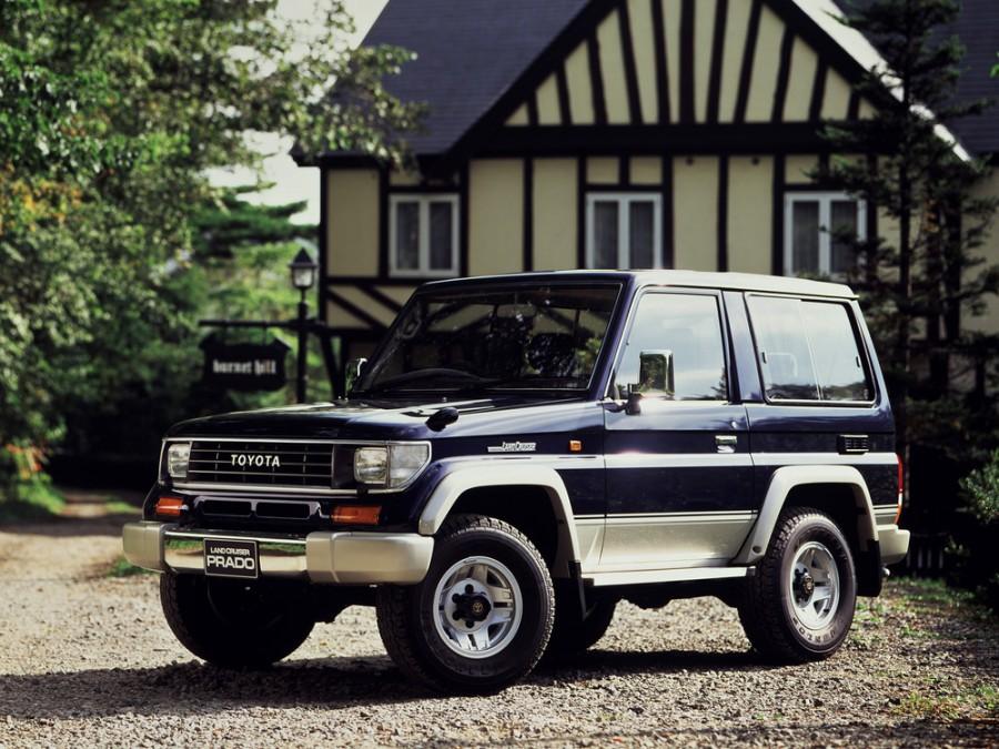 Toyota Land Cruiser Prado внедорожник 3-дв., 1990–1996, J70 - отзывы, фото и характеристики на Car.ru