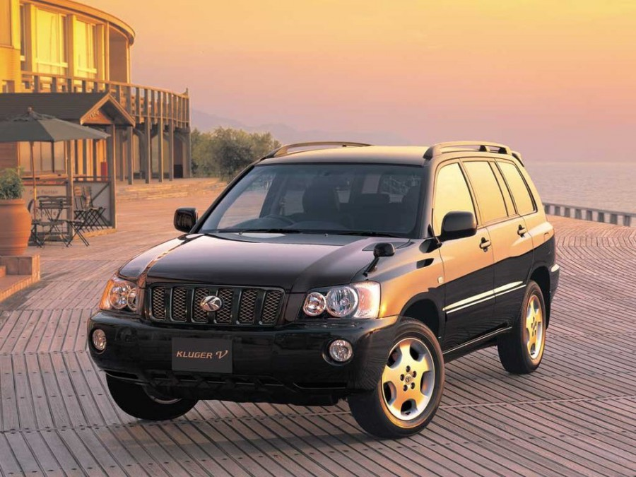 Toyota Kluger внедорожник, 2000–2003, XU20 - отзывы, фото и характеристики на Car.ru