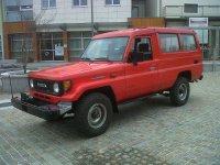 Toyota Land Cruiser, J70, J75 внедорожник 3-дв., 1984–1990
