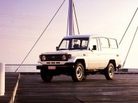 Toyota Land Cruiser, J70 [рестайлинг], J78 внедорожник 3-дв., 1990–1999