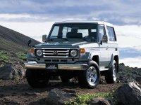 Toyota Land Cruiser, J70 [2-й рестайлинг], J74v внедорожник 3-дв., 1999–2007