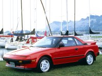 Toyota MR2, W10, Купе, 1984–1989