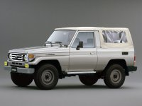 Toyota Land Cruiser, J70 [2-й рестайлинг], J73 кабриолет, 1999–2007