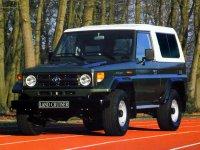 Toyota Land Cruiser, J70 [рестайлинг], J73v внедорожник 3-дв., 1990–1999