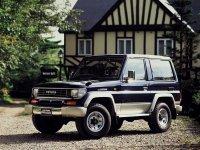 Toyota Land Cruiser Prado, J70, Внедорожник 3-дв., 1990–1996