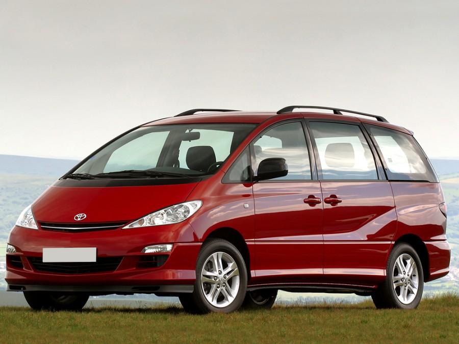 Toyota Previa минивэн, 2005–2006, XR30/XR40 [рестайлинг] - отзывы, фото и характеристики на Car.ru